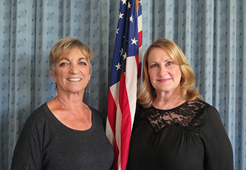 Fallbrook Woman's Club ~ Judie Erickson & Dawn Mitchell - Co-Presidents 2016 - 2017